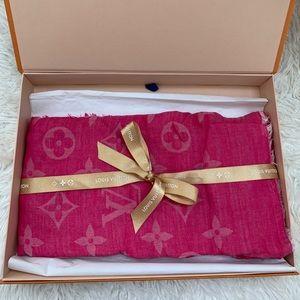 Louis Vuitton MONOGRAM SHAWL (Indian Rose scarf)